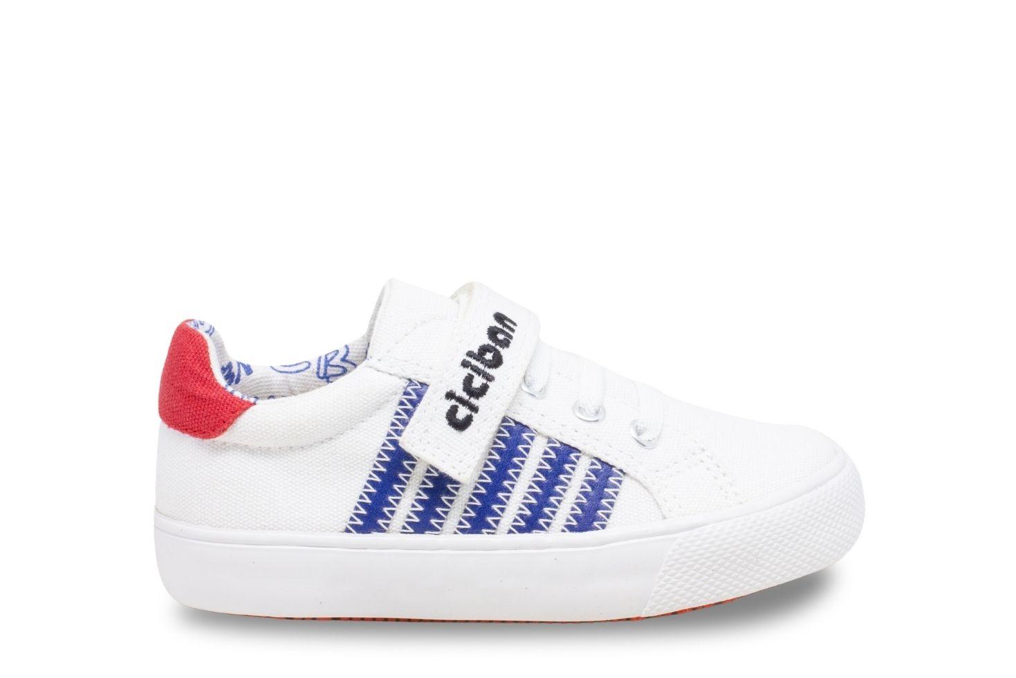CANVAS 304715 WHITE-BLUE